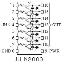 DS2003 (National Semiconductor), MC1413 ( Motorola)
